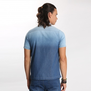 Bossini Shirt with Short Sleeves and Patch Pocket