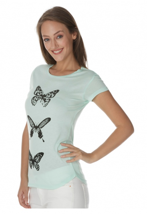 Butterfly Printed T-shirt