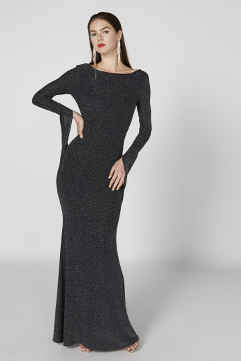 Boatneck Long Sleeve Dresses