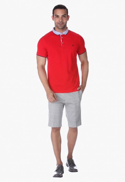 L'Homme Short Sleeves Polo T-shirt