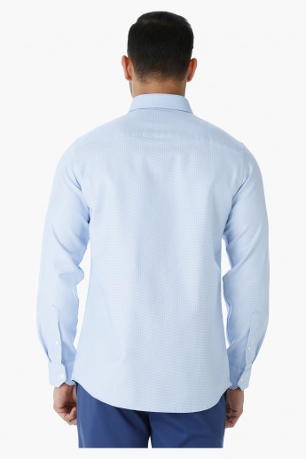 L'Homme Cotton Formal Shirt with Long Sleeves