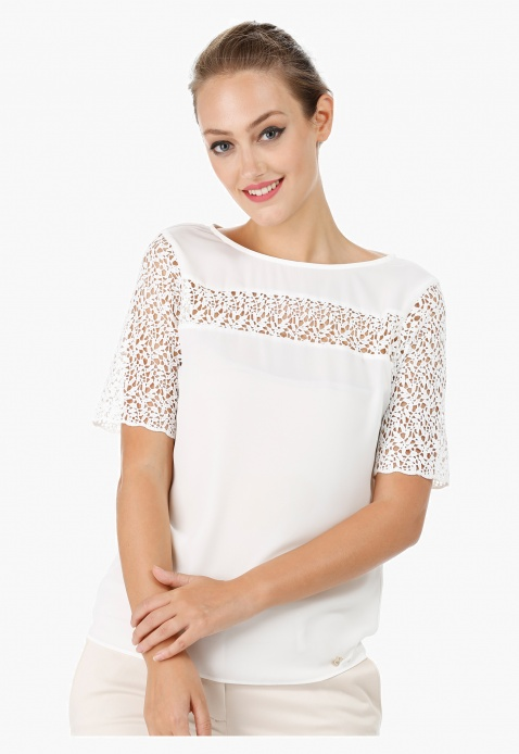 Elle Lace Top