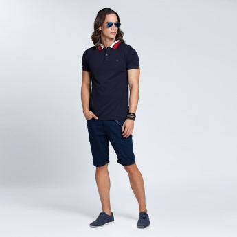 Short Sleeves Polo Neck T-Shirt
