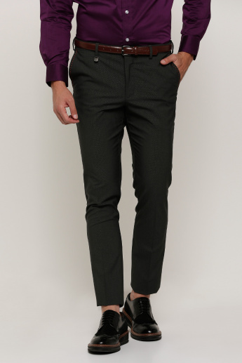 L'Homme Full Length Trousers with Pocket Detail