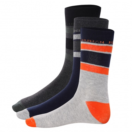 Being Human Striped Socks - Set of 3