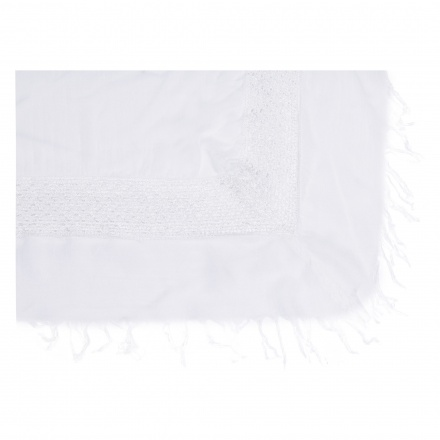 Tasselled Lace Scarf