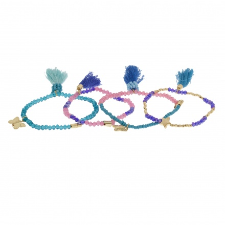 Beaded Bracelet - Set of 4