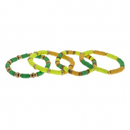 Multi Colour Bracelet - Set of 4