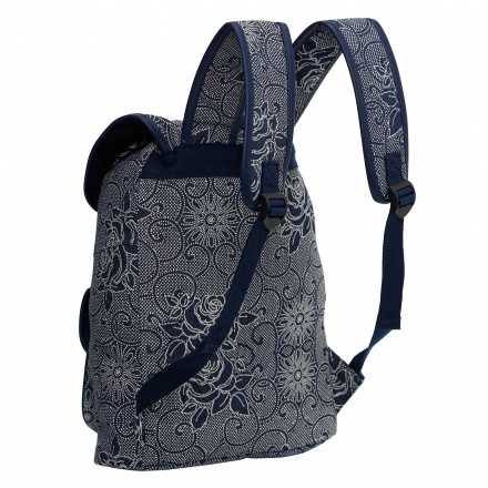 Printed Bucket Backpack
