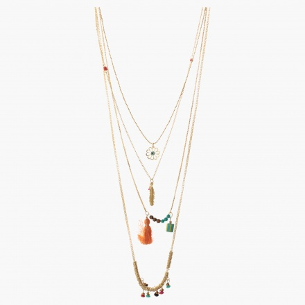 Accent Multi-layered Necklace