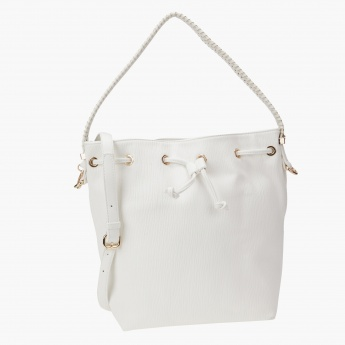 Solid Colour Hand Bag