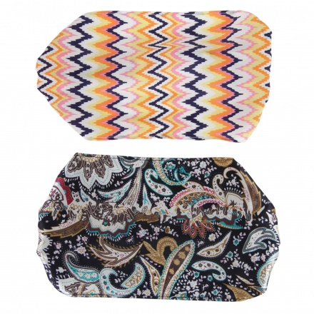 Printed Hairbands - Set of 2