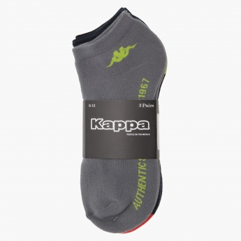 Kappa Ankle Length Socks - Set of 3