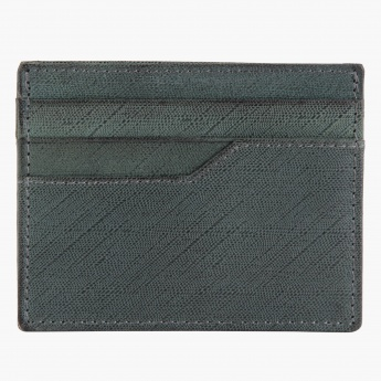 Textured Leather Slim Card Holder