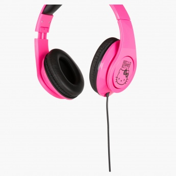 Hello Kitty Printed Headphones