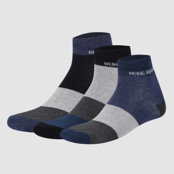 Being Human Ankle Length Socks - Set of 3