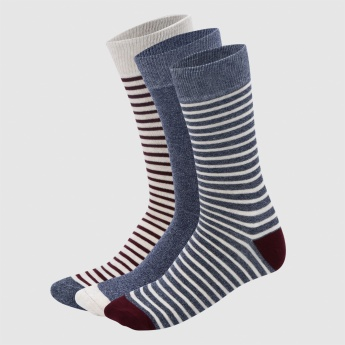 Crew Length Socks - Set of 3