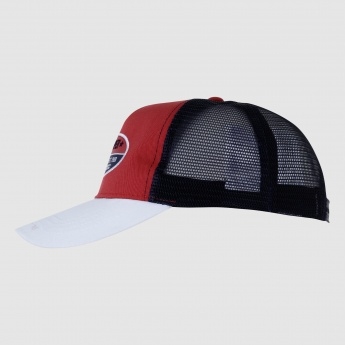 Lee Cooper Embroidered Cap with Snap Closure
