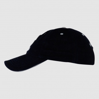 Being Human Cap with Metallic Buckle Tuck in Closure