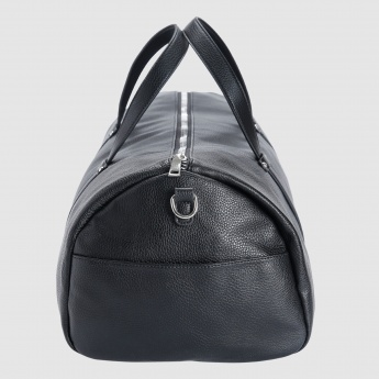 Iconic Duffel Bag with Zip Closure