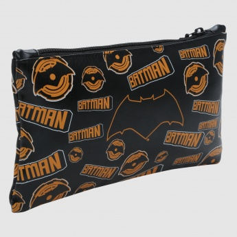 Batman Printed Flat Pencil Case