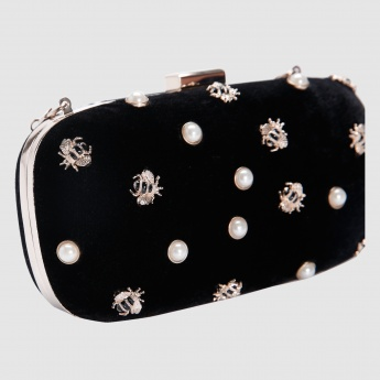 Iconic Embellished Clutch