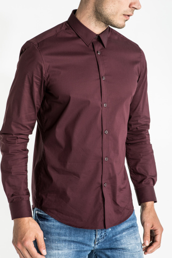quality design f0b7d edbab CR7 CRISTIANO RONALDO Long Sleeves Shirt with Complete Placket