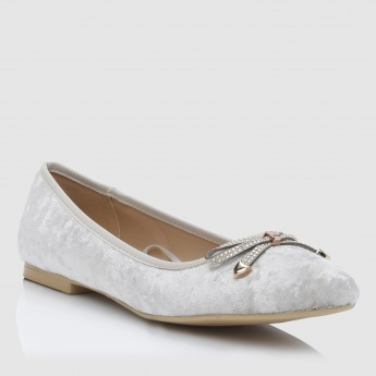 Iconic Slip-On Shoes with Bow Detail
