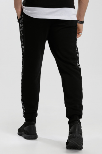 Iconic Printed Jog Pants with Elasticised Waistband
