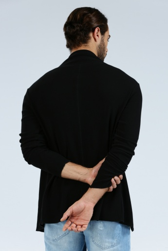 Iconic Long Sleeves Jacket with Open Front