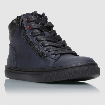 Iconic Lace-Up High Top Shoes