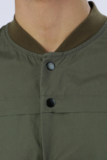 Iconic Shirt with Long Sleeves and Button Placket