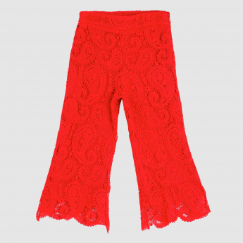 Iconic Full Length Lace Trousers