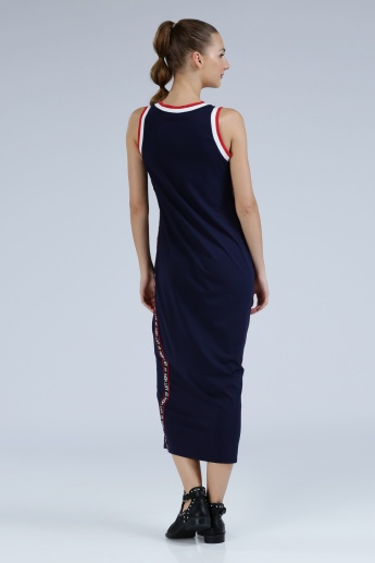 Iconic Round Neck Maxi Dress