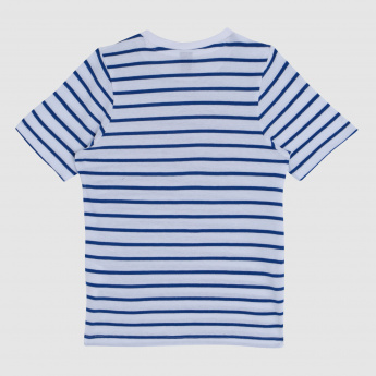 Iconic Striped Round Neck T-Shirt