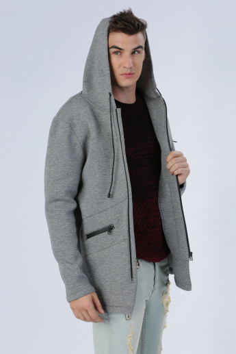 Iconic Jacket with Long Sleeves and Hood