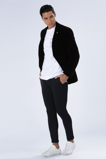 Iconic Open Front Blazer with Long Sleeves