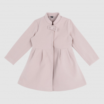 Iconic Long Sleeves Jacket with Bow Applique