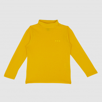 Iconic Turtle Neck Long Sleeves T-Shirt