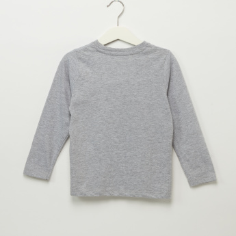 Iconic Round Neck Long Sleeves T-Shirt