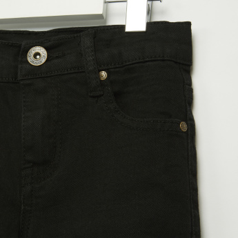 Iconic Pocket Detail Full Length Jeans in Skinny Fit