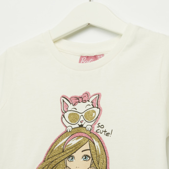 Iconic Barbie Printed Short Sleeves T-Shirt
