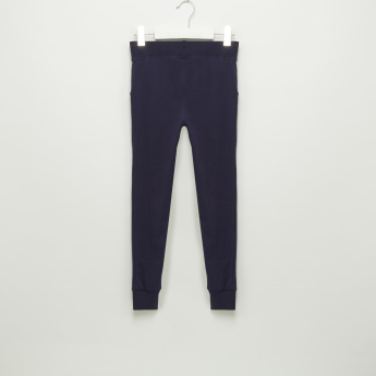 Iconic Full Length Jog Pants with Elasticised Waistband and Drawstring