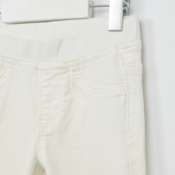 Iconic Pocket Detail Jeggings with Elasticised Waistband