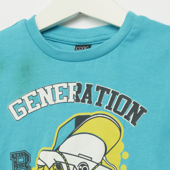 Iconic Generation Champ Printed Short Sleeves T-Shirt