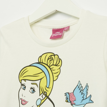 Iconic Cinderella Printed Short Sleeves T-Shirt