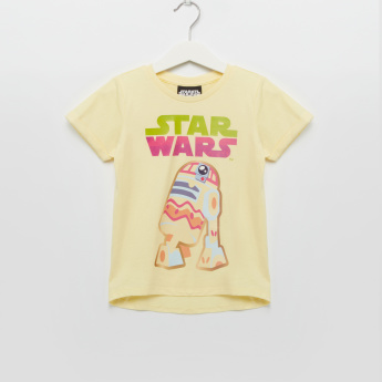 Iconic Star Wars Printed Short  Sleeves T-Shirt