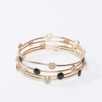 Set of 3 - Iconic Embellished Bracelet