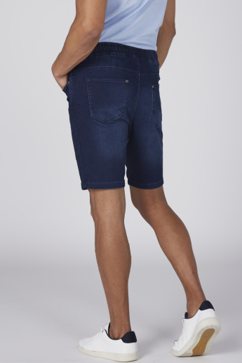 Bossini Pocket Detail Shorts with Elasticised Waistband