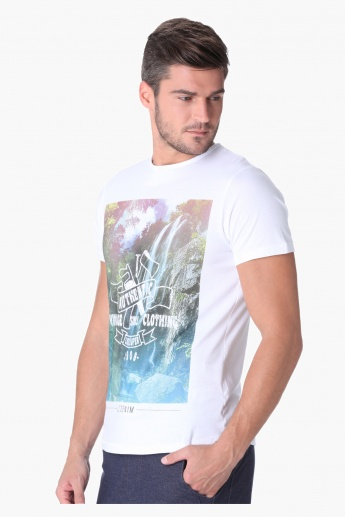Lee Cooper Graphic Printed T-shirt
